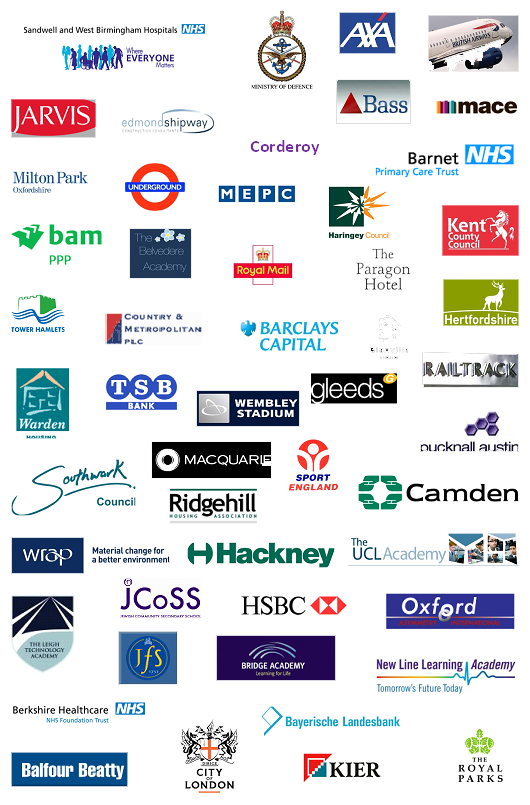 Collage of organisations