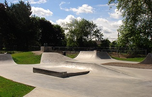Leisure projects - skateboard park