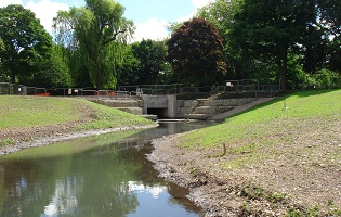public realm projects - river wandle